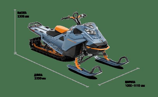 Ski-Doo SUMMIT X 165 850 E-TEC SHOT 2022