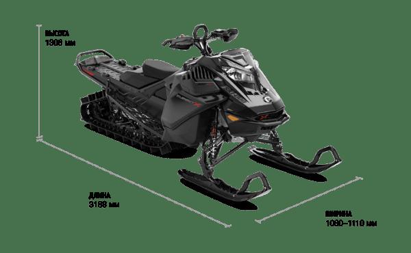 Ski-Doo SUMMIT EXPERT 154 850 E-TEC TURBO SHOT 2022