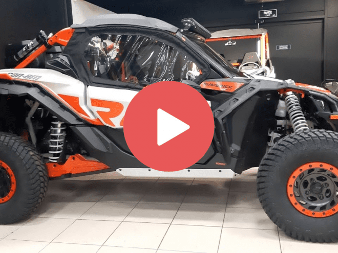 Завершили установку аксессуаров на очередной SSV BRP CAN-AM MAVERICK X3 X-RC 2021