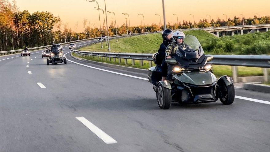 Тест-драйвы трициклов в рамках ROADSHOW 2021