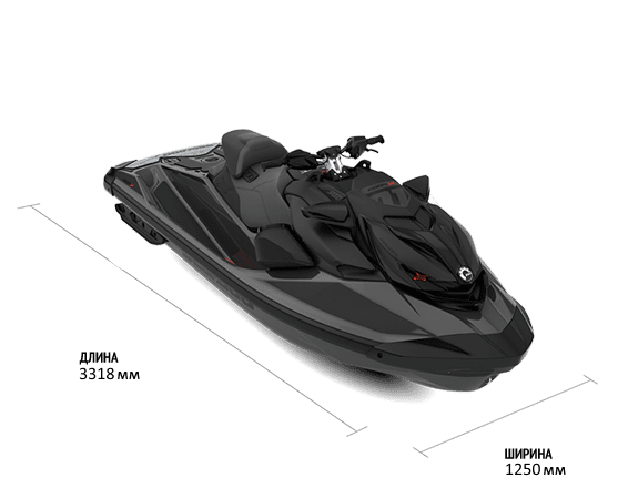 Sea-Doo RXP-XRS 300 2022 с аудиосистемой