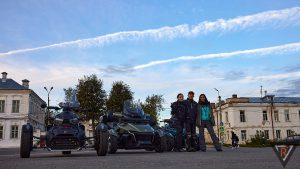 Поездка на трициклах 18.09.21 Тверь-Раёк-Торжок