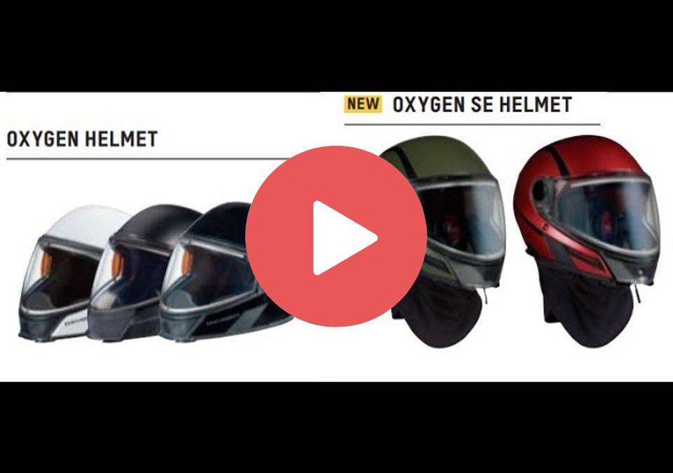 Снегоходный туристический шлем SKI-DOO OXYGEN с подогревом визора