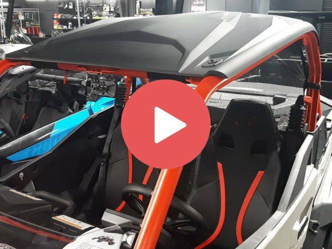 Аксессуары для мотовездеходов BRP CAN-AM 2022. Сумки на двери, под потолок и в салон Maverick Sport